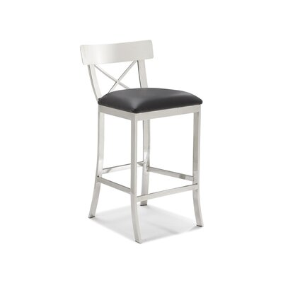 "Sunpan Modern Status 26"" Bar Stool with Cusion"