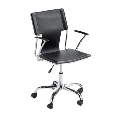 Sunpan Modern Diplomat Faux Leather Office Chair