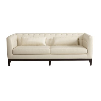 Sunpan Modern Randolph Grain Leather Sofa