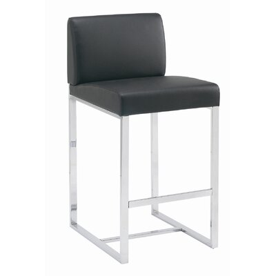Sunpan Modern Addison Faux Leather Stool
