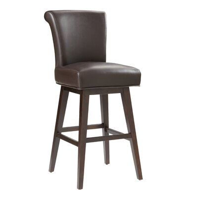"Sunpan Modern Hamlet 30"" Swivel Bar Stool with Cushion"
