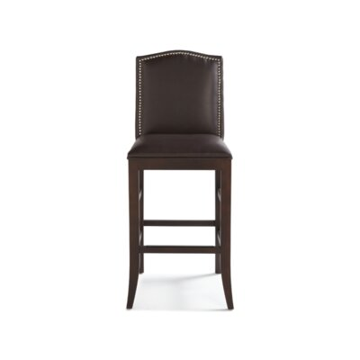 Sunpan Modern Maison Bonded Leather Stool
