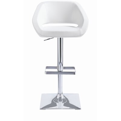 "Sunpan Modern Gustavo 24"" Adjustable Bar Stool with Cushion"