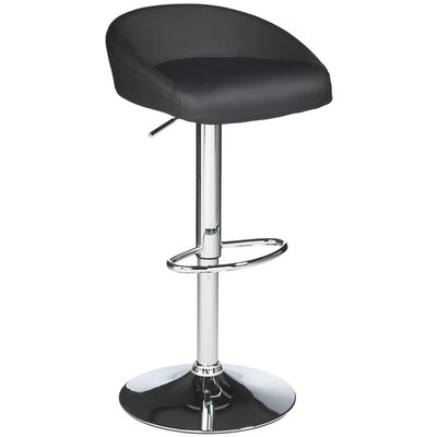 "<strong>Sunpan Modern</strong> Fargo 23.5"" Adjustable Bar Stool with Cushion"