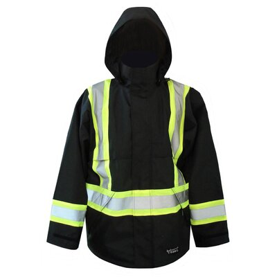 Viking Wear Professional 300D Trilobal Rip Stop Fire Resistant Jacket with Hood