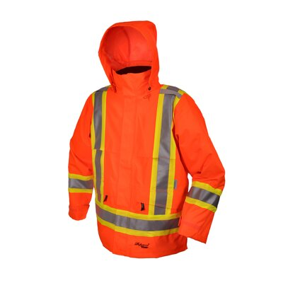 Professional Journeyman 300D Trilobal Rip Stop Safety Jacket