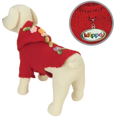 Klippo Pet Adorable Hand Knit Dog Sweater