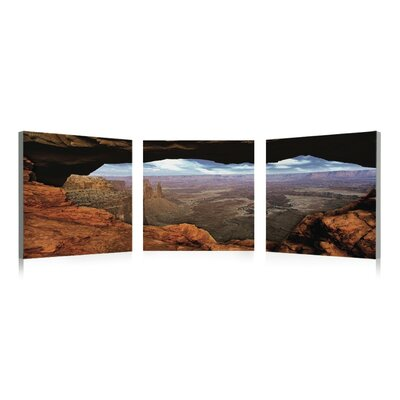 Artistic Bliss Grand Canyon Wall Art (Set of 3)