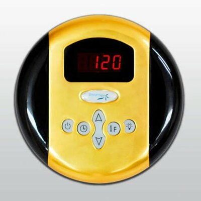 Steam Spa Programmable Control Panel with Time and Temperature Presents