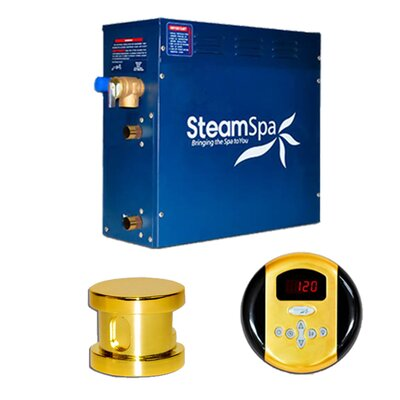 Steam Spa 9 KW Oasis Steam Generator Package