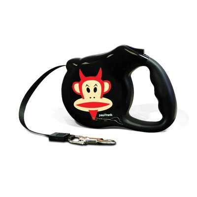 26 Bars & A Band Paul Frank-Devil Julius Retractable Dog Leash