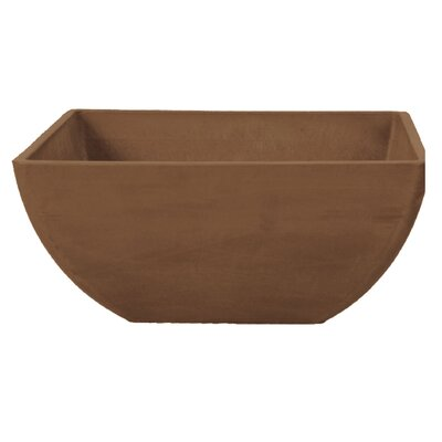 "Arcadia Garden Products 6"" Simplicity Square Pot"