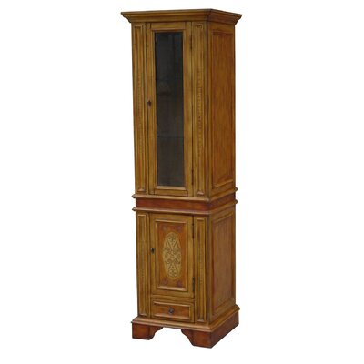 wood bathroom storage cabinet wayfair