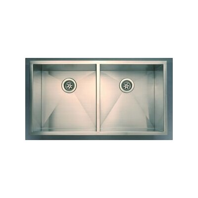 Everest Double Undermount Kitchen Sink
