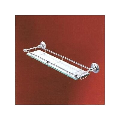Empire Industries Carlton Glass Shelf with Rail
