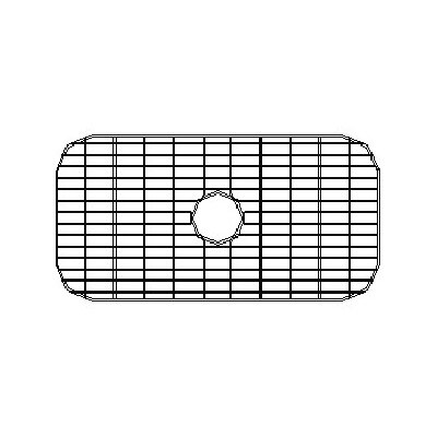 "Empire Industries 30"" x 16"" Sink Grid for 16 Gauge Undermount Single Bowl Kitchen Sink"