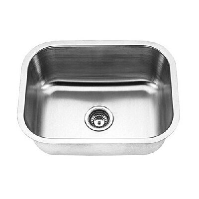 Empire Industries 18 Gauge Single Undermount Kitchen Sink
