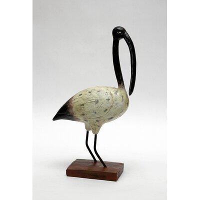 Vita V Home Shore Bird Beak Ibis Statue