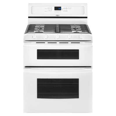 Whirlpool Gold Double Oven Freestanding Gas Range