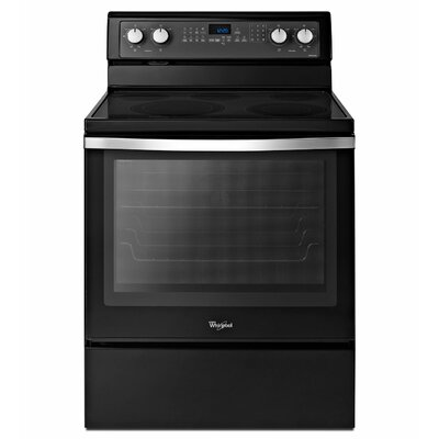 Whirlpool 6.2 cu. ft. Timesavor Plus True Convection Cooking System Electric Range