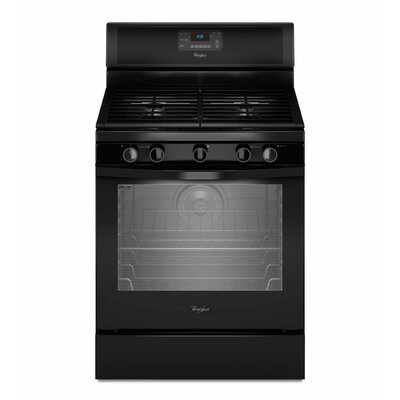 Whirlpool 5.8 cu. ft. Aqualift Self-Clean Technology Gas Range