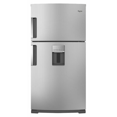 Whirlpool 21 cu. ft. Exterior Water Dispenser Top-Freezer Refrigerator