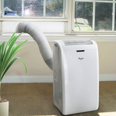 whirlpool portable air conditioner with remote reviews wayfair