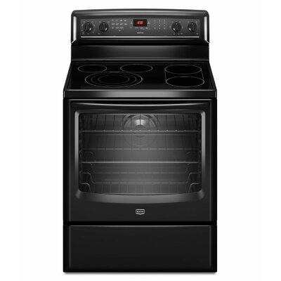 Maytag 6.2 cu. ft. EvenAir True Convection and a Bridge Element Electric Range