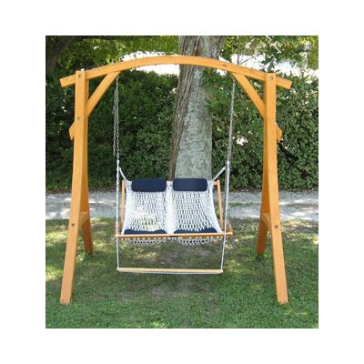 Cypress Arc Swing Stand