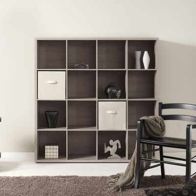 didit Click Furniture 4 Row and 4 Column Open Cabinet