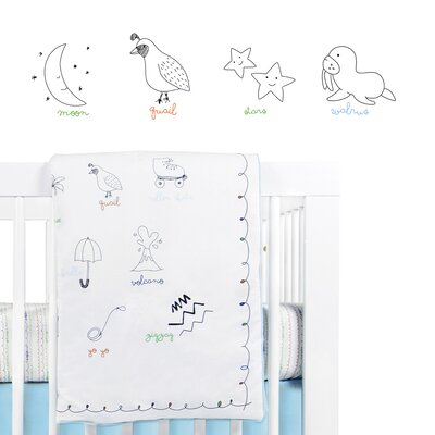 babyletto Alphabets Play Blanket