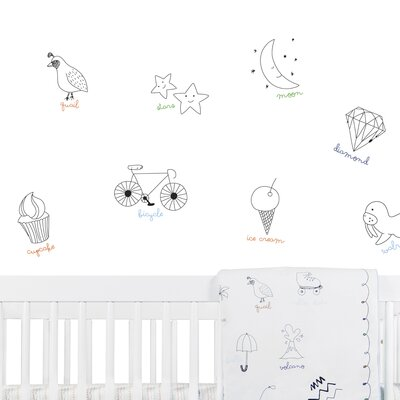 babyletto Alphabets Wall Decal