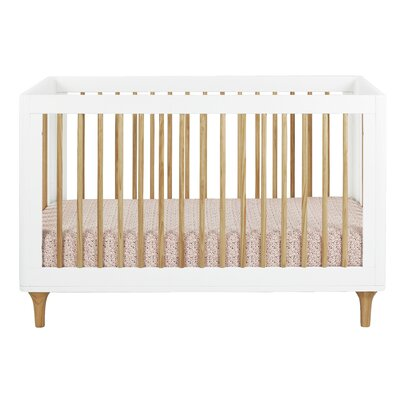 Lolly 3-in-1 Convertible Crib with Toddler Rail