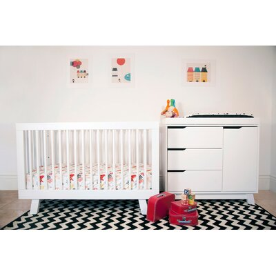 babyletto Hudson 3-In-1 Convertible Nursery Set