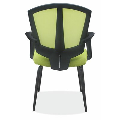 OfficeSource Sprint Side Chair with Arms