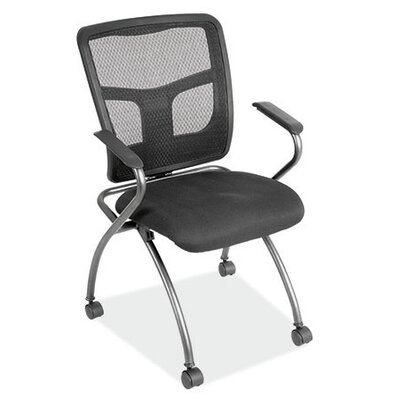 OfficeSource Mesh Nesting Chair with Arms
