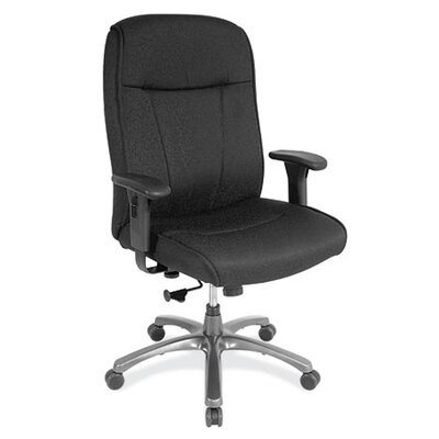 OfficeSource High-Back Task Chair with Adjustable Arms