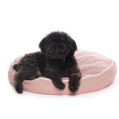 Waggo Engineer Stripe Circle Dog Pillow