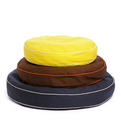 Waggo Colorblocker Circle Dog Pillow