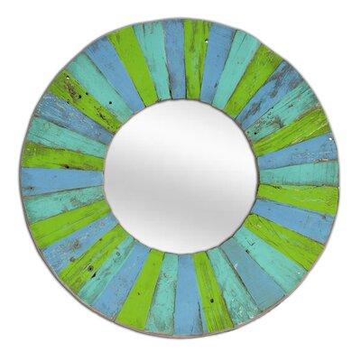 Foreign Affairs Home Decor Hantai Round Mirror