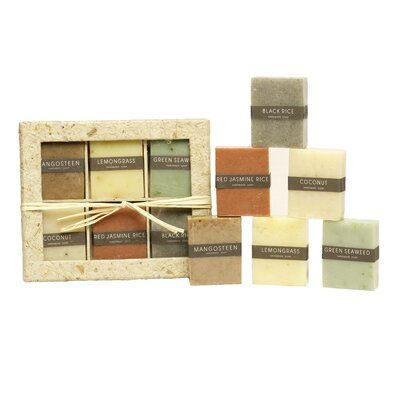 Foreign Affairs Home Decor Baru Soap (Set of 6)