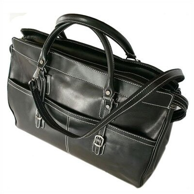 "Floto Imports Casiana 21"" Leather Travel Duffel"