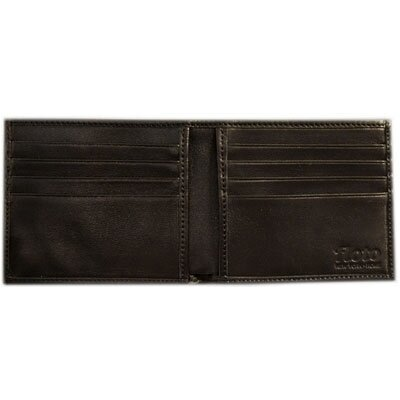 Firenze Leather Double Billfold Wallet