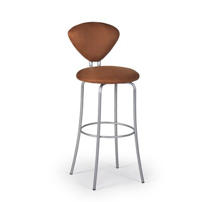 "Createch Stylo 24"" Swivel Bar Stool with Cushion"