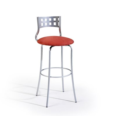 "Createch Sax 24"" Swivel Bar Stool with Cushion"