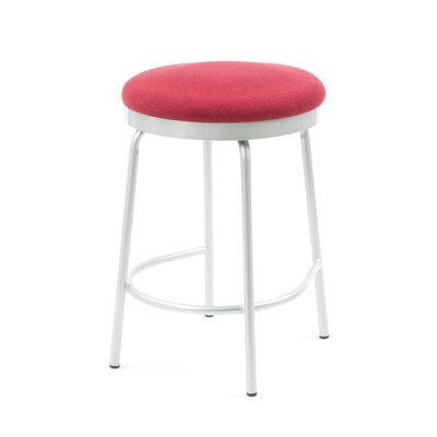 "Createch Doba 24"" Swivel Bar Stool with Cushion"