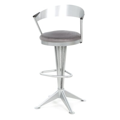 "Createch Cadet 30"" Swivel Bar Stool with Cushion"