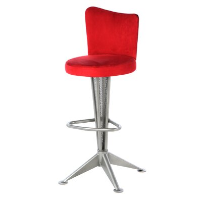 "Createch Orbit 30"" Swivel Bar Stool with Cushion"