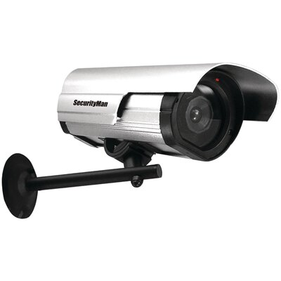 Security Man Dummy Indoor/Outdoor Camera with Led