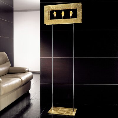 Masiero Klok 1 Light 3 Glass Drop Floor Lamp